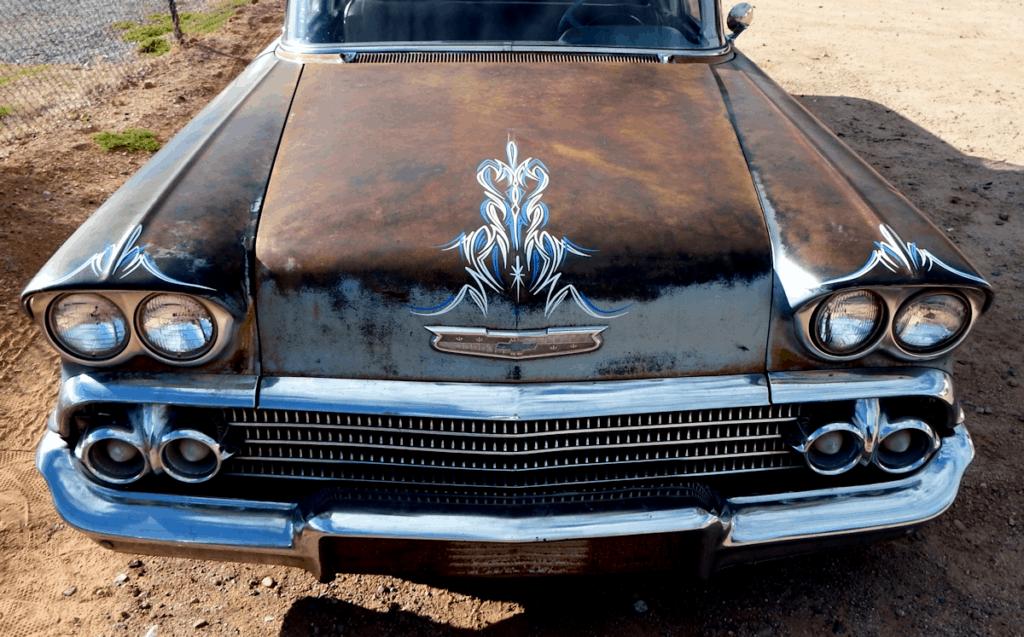 1958 Chevrolet Biscayne Front End