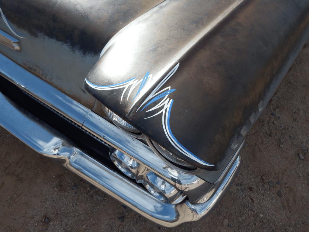 1958 Chevrolet Biscayne Pinstripe Details