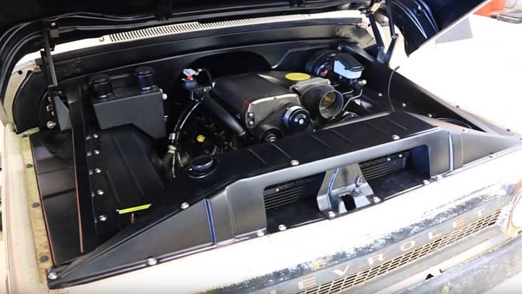 1965 Chevy C10 Restomod Engine Bay