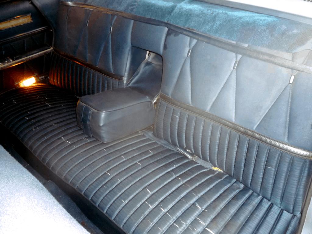 1966 Ford Galaxie 500 LTD Back Seat