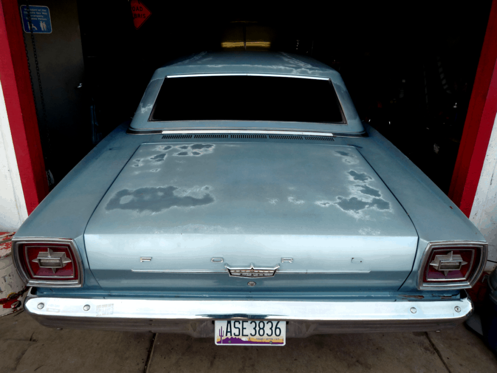 1966 Ford Galaxie 500 LTD Rear End