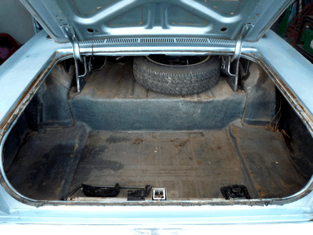 1966 Ford Galaxie 500 LTD Trunk