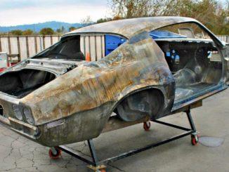 1970 Chevrolet Camaro Z28 RS Project - Full OEM Restoration