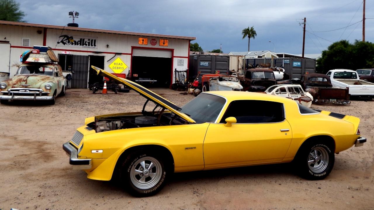 Bumblebee ~ 1976 Camaro Engine Swap ~ Roadkill Customs