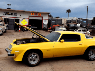 1976 Camaro Bumblebee Engine Swap