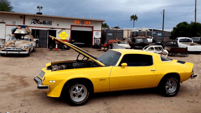1976 Camaro Bumblebee Engine Swap