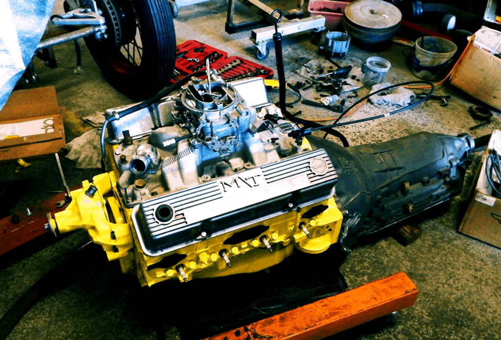 1976 Camaro Bumblebee Engine Swap ~ Recently Freshened 305