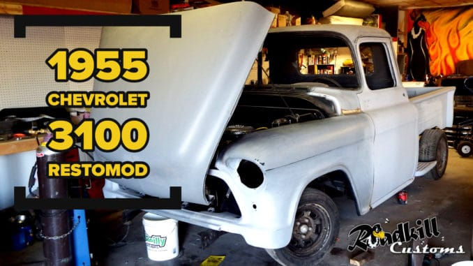 2nd Series 1955 Task Force Custom RestoMod Truck Build