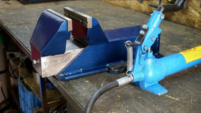 How To Make a Hydraulic Bench Vise