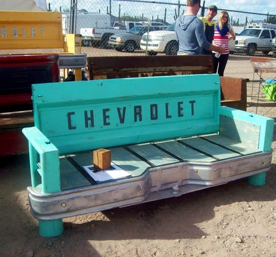 Chevrolet Bumper and Tailgate Bench