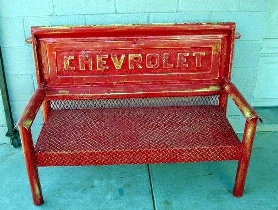 tailgate hinge kit chevrolet Best of Chevy Pickup Tailgate Bench I want this so much Preferably in a