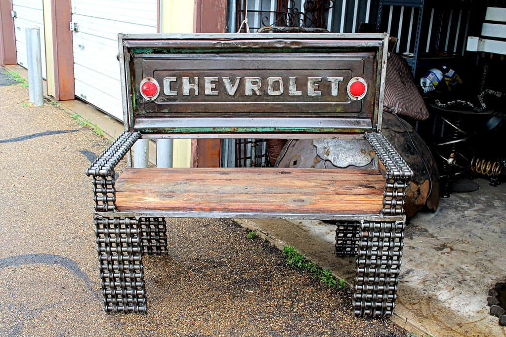 Chevrolet Tailgate Bench by RecycledSalvage