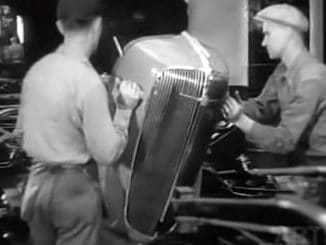 Fascinating Automobile Assembly Line Footage from 1936