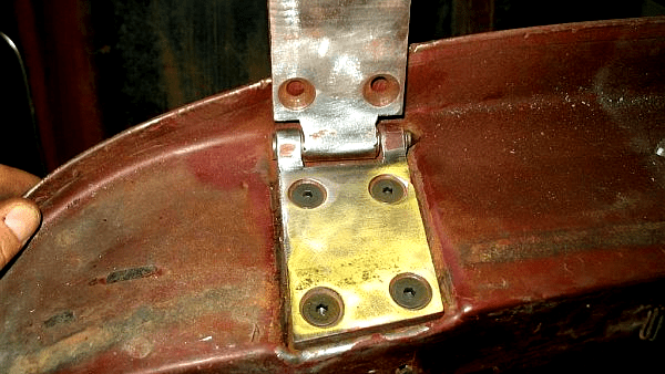 Shoebox Door Hinge Rebuild ~ Cheap and Easy