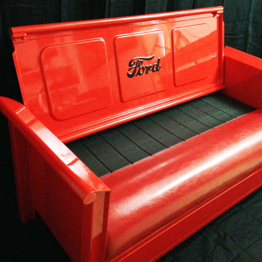 Ford Tailgate Bench - Backwater Customs