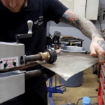 How To Bead Roll Sheet Metal Without Warping