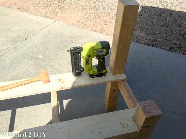 How To Make a Tailgate Bench