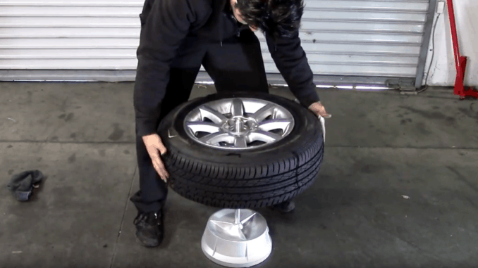 How to Balance a Tire Yourself at Home