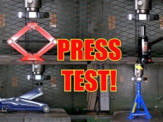 Jack Stand Press Test