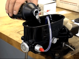 Master Cylinder Installation and Bench Bleeding Procedure