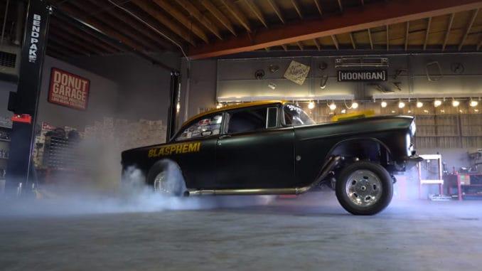 Mike Finnegans 900 horsepower drag car - Blasphemi