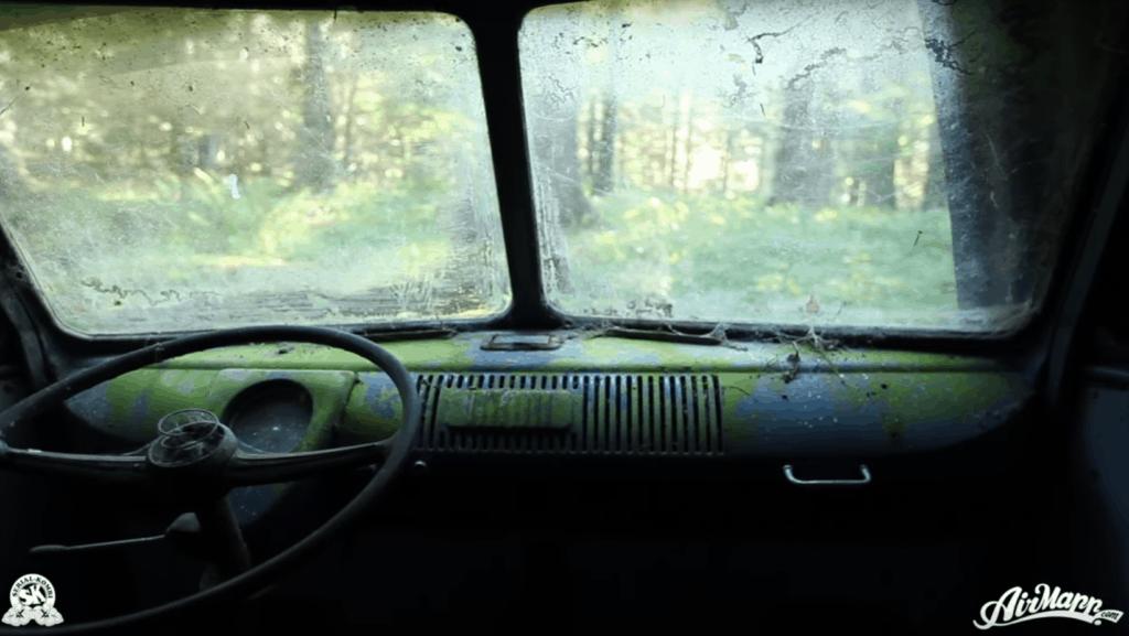 Rescue of a 1955 Volkswagen Van