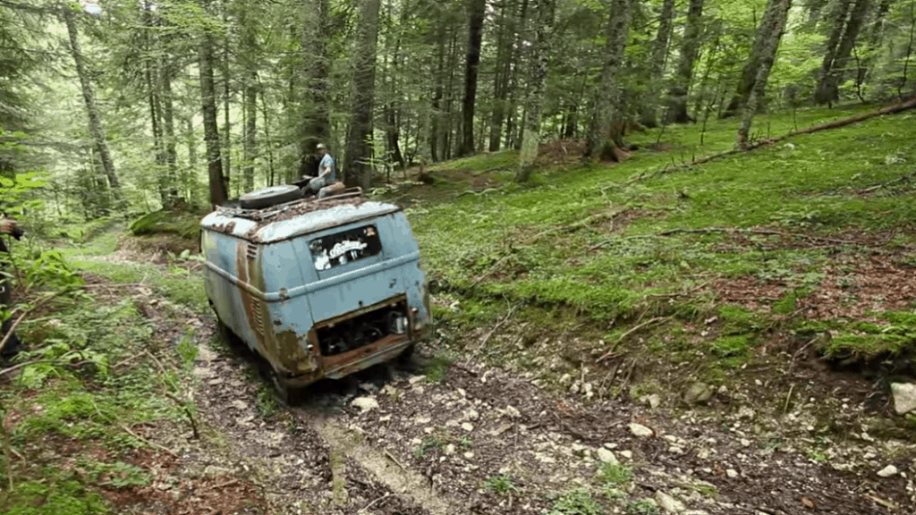 Rescue of a 1955 Volkswagen Van