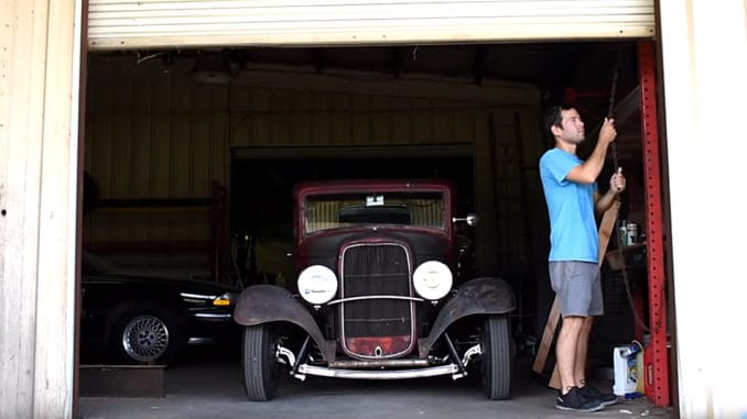 Survivor: 1932 Ford 5 Window Coupe Hot Rod
