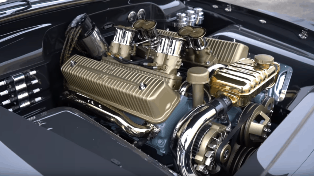 The $1.4 Million '51 Ford Coupe Engine Bay