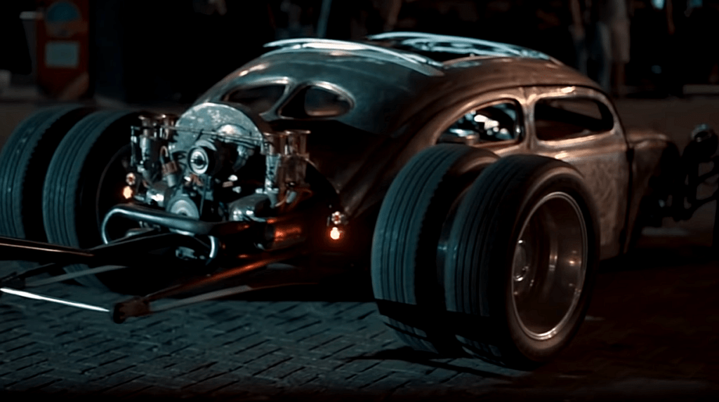 The Gladiator ~ Rat Rod Project by Otoresto Rear at Night