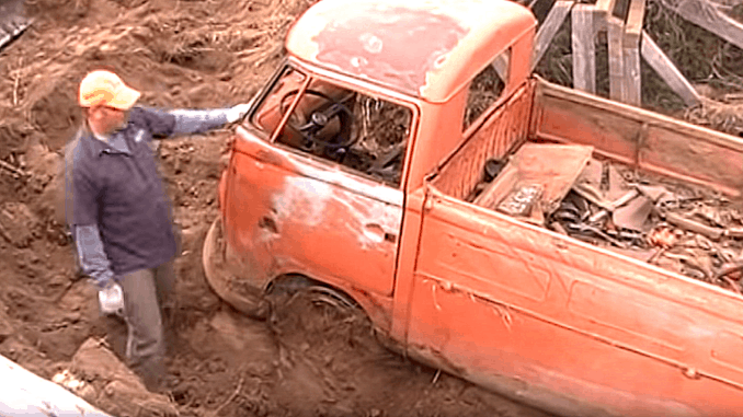 Volkswagen Single Cab Recovered After 45 Years