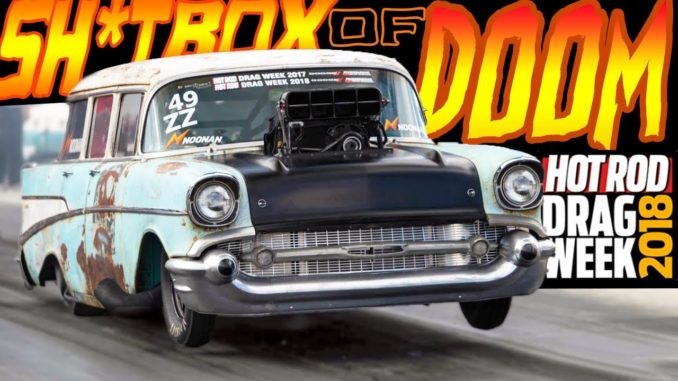 SH*T BOX OF DOOM ~ Most Ridiculous Station Wagon EVER