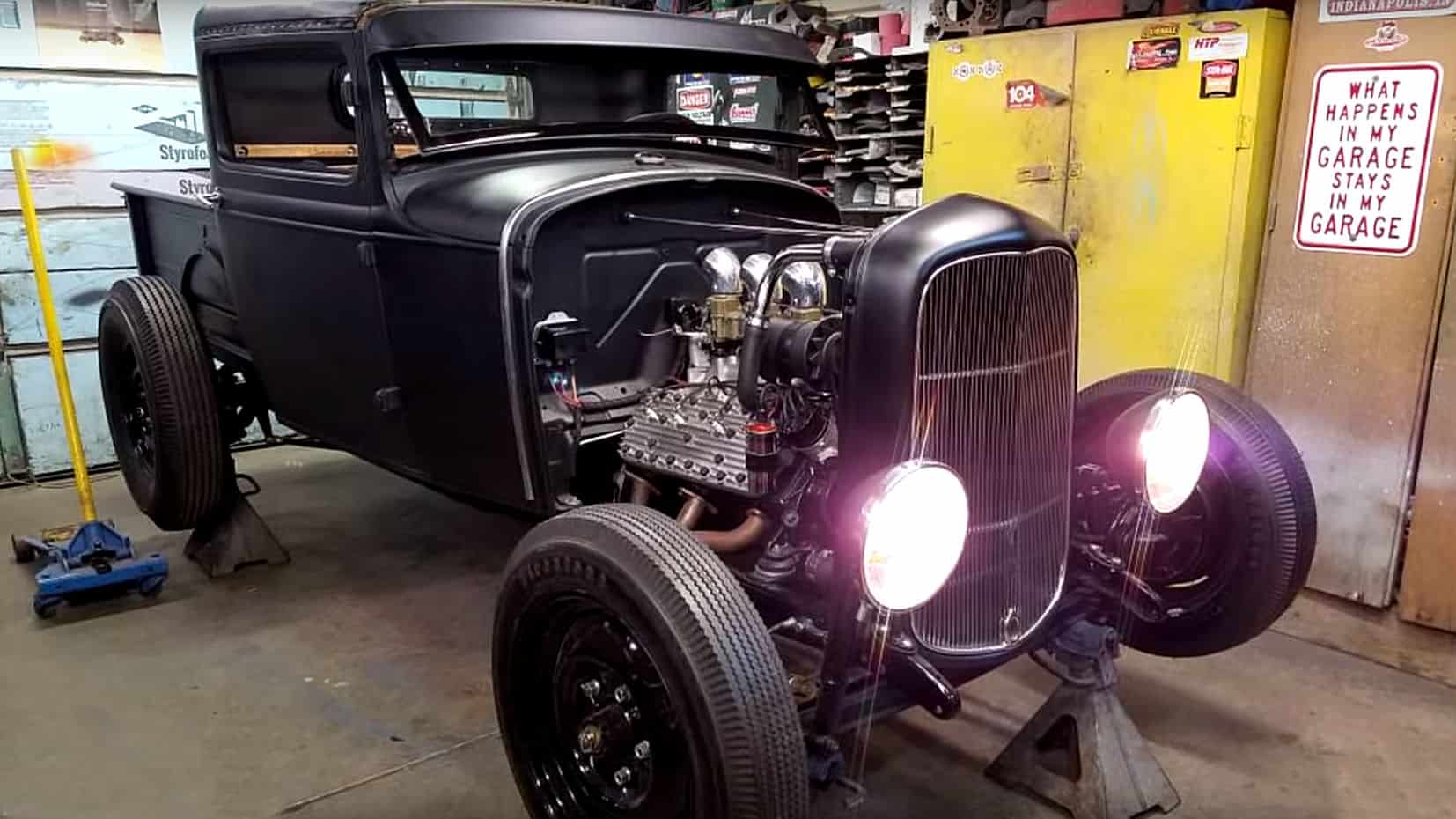 1931 Ford Model A Hot Rod Truck Build 1931 ford model a hot rod truck build ~ roadkill customs
