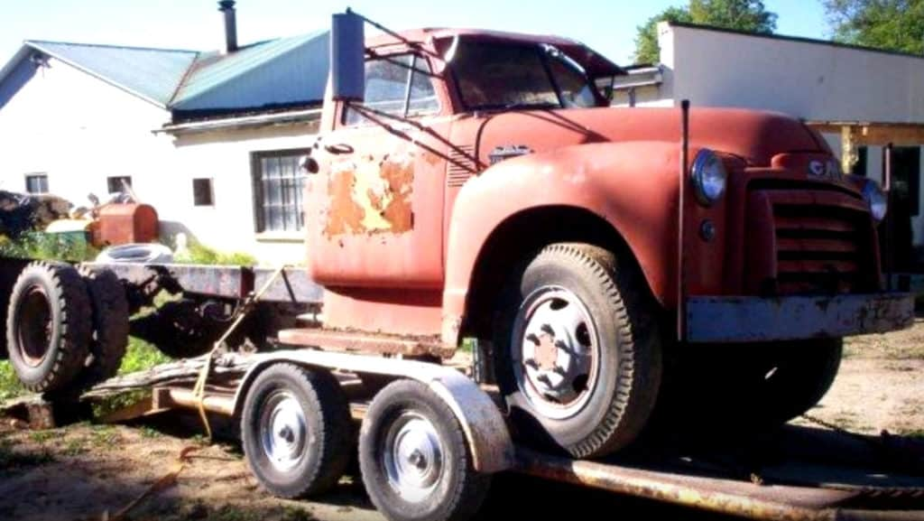1952 GMC 9700 7.9L Turbo Diesel Build ~ Before