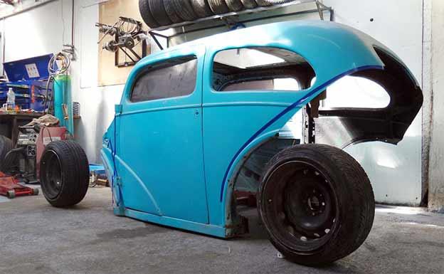 1953 Ford Anglia-Saab Turbo