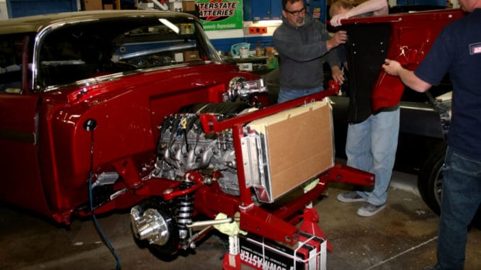 1956 Chevrolet Bel Air LS3 Pro Touring RestoMod Build