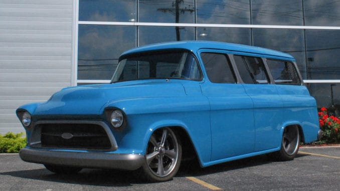 1957 Chevrolet Suburban RestoMod Build