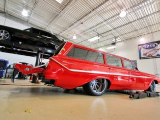 1961 Chevrolet Impala Parkwood Station Wagon Feature