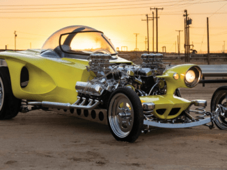 "1962 Ed Roth ""Mysterion"" Recreation Karissa Hosek ©2018 Courtesy of RM Sotheby's"
