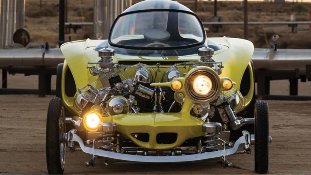 "1962 Ed Roth ""Mysterion"" Recreation ©2018 Courtesy of RM Sotheby's"