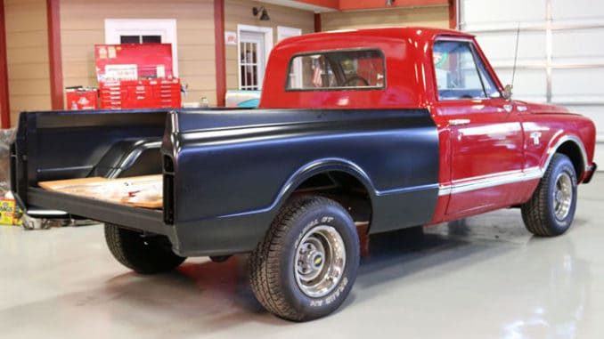1963-72 Chevy & GMC Truck Longbed to Shortbed Conversion