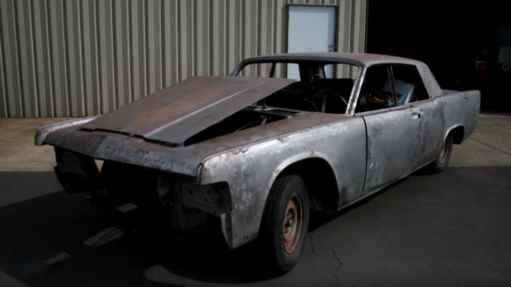 1965 Lincoln Continental RestoMod Build ~ Before