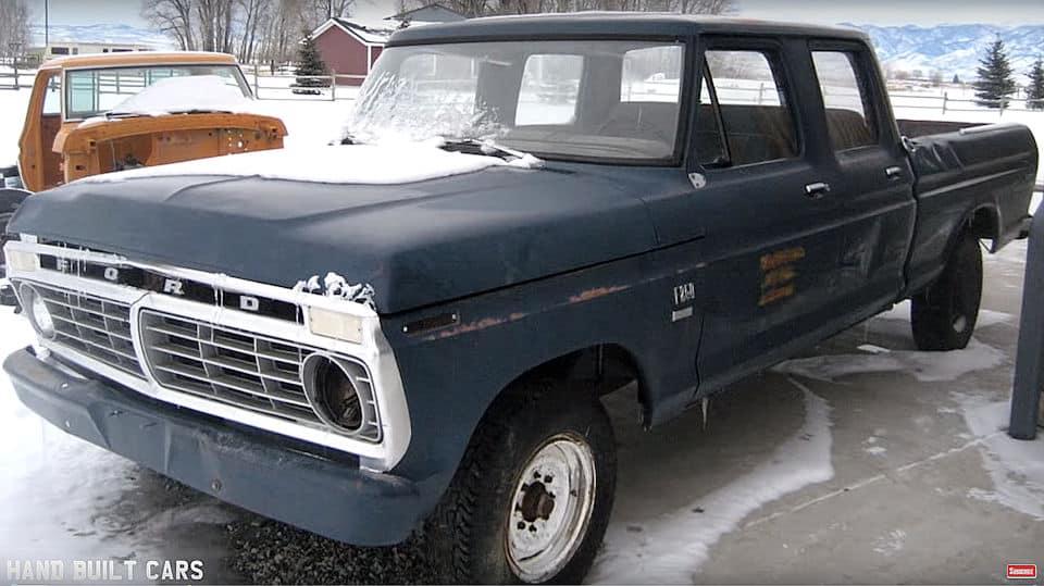 1970 Ford F250 Super Duty Cummins Turbo Diesel Build Before