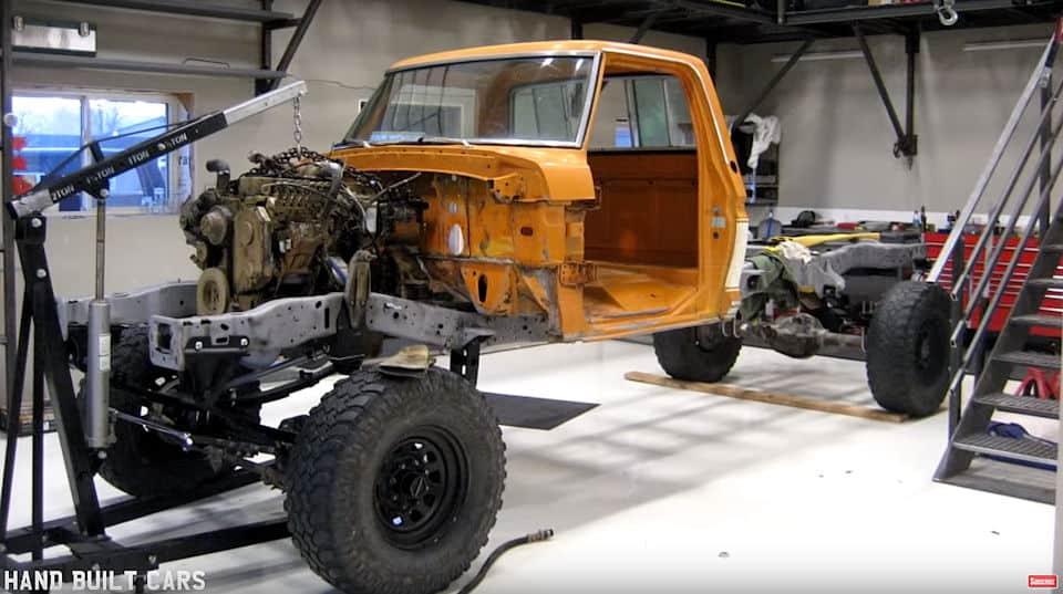 1970 Ford F250 Super Duty Cummins Turbo Diesel Build In Progress