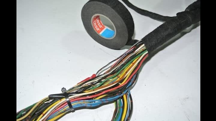 diy wiring harness clean-up and restoration  roadkill customs