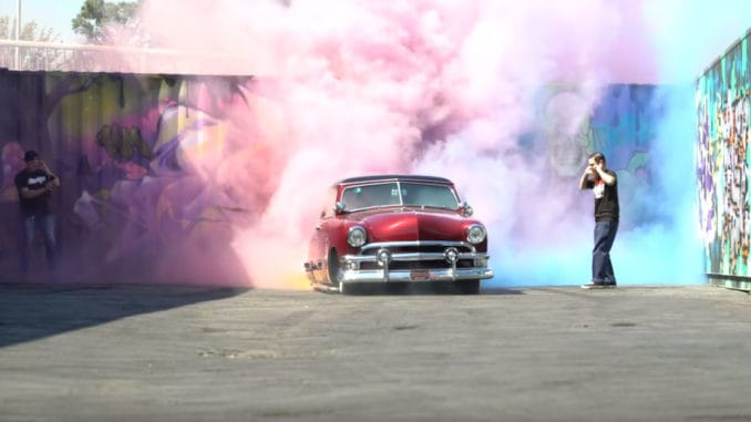 Ford Victoria Breaks Donut Garage World Record