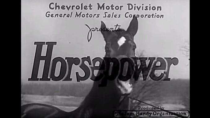 Horsepower ~ Chevrolet Motor Division 1937