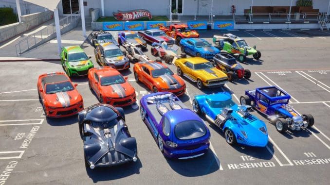 Hot Wheels Life Size Fleet
