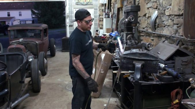 How To Chop a 1932 Ford Radiator