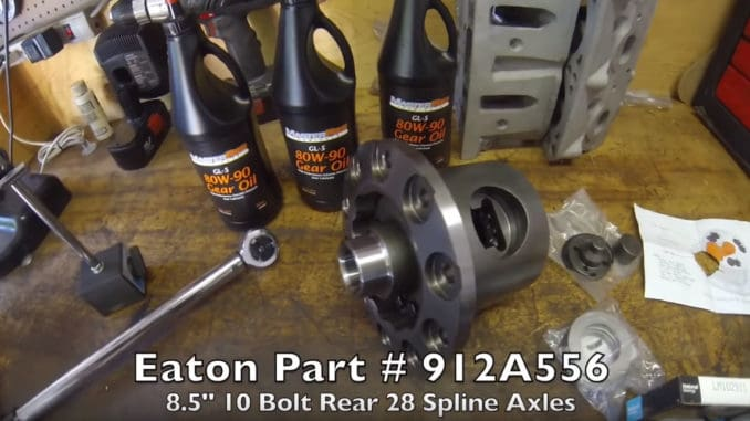 "How To Install a Limited Slip/Posi Unit in a GM 10 Bolt 8.5"" Rear-end"